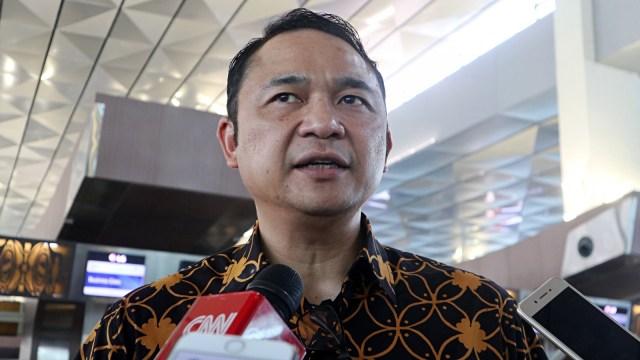 Direktur Utama Garuda Indonesia, Ari Askhara