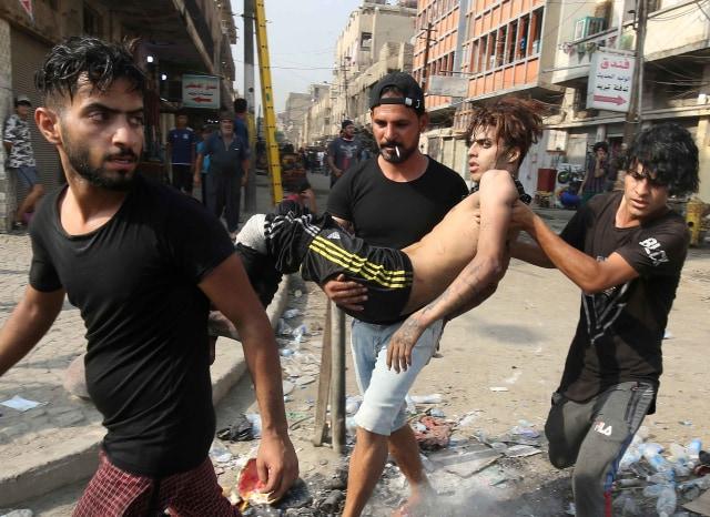 100 Orang Tewas dalam Aksi Protes Berujung Rusuh di Irak (323284)