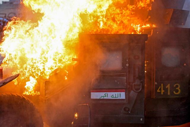 Polisi Tembaki Demonstran Irak, 14 Tewas dan 865 Terluka (331616)