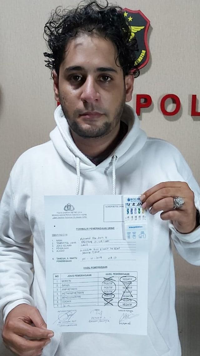 Muhamad bin Anis B, menantu elvy sukaesih, Narkoba (NOTCOV)