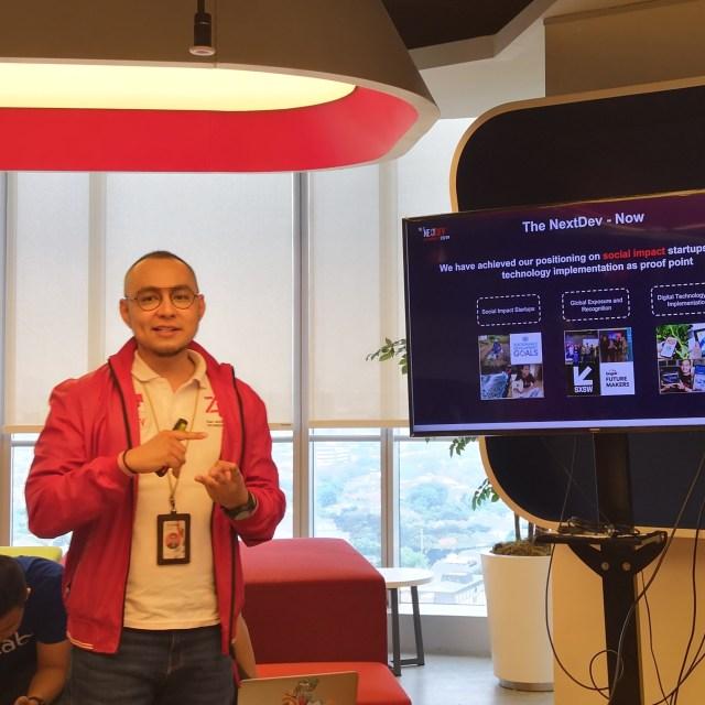Steve Saerang, The NextDev Lead Project Manager