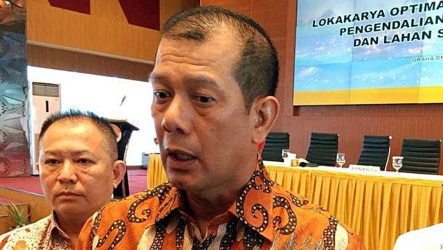 Ketua BNPB, Doni Monardo, lokakarya BNPB