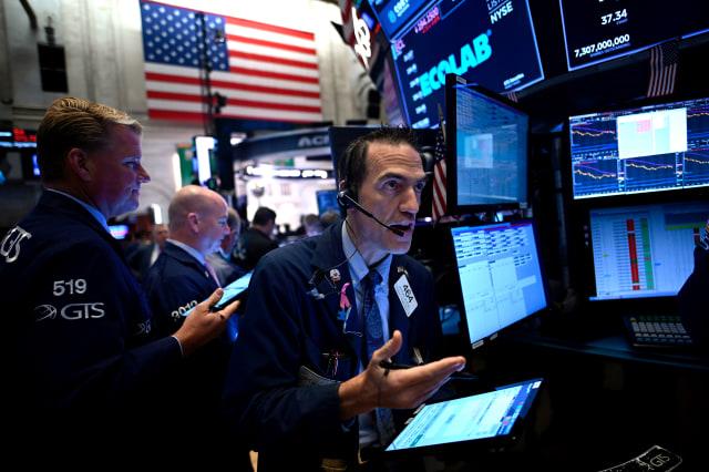 saham di Wall Street