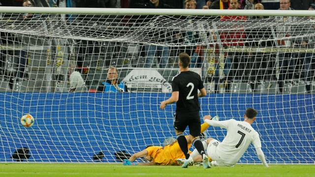 Sempat Unggul, Jerman Diimbangi Argentina (108270)