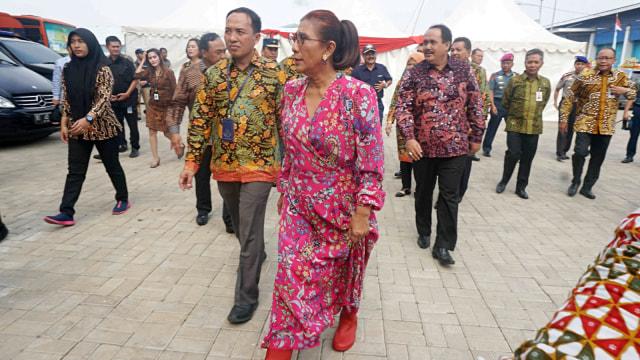 Foto: Susi Pudjiastuti Resmikan Cold Storage Raksasa di Jakarta Utara (170995)