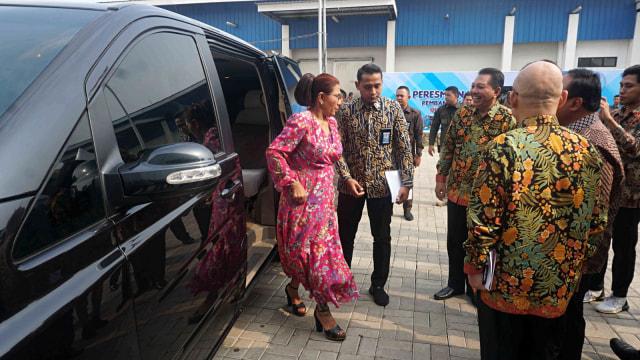 Foto: Susi Pudjiastuti Resmikan Cold Storage Raksasa di Jakarta Utara (170993)