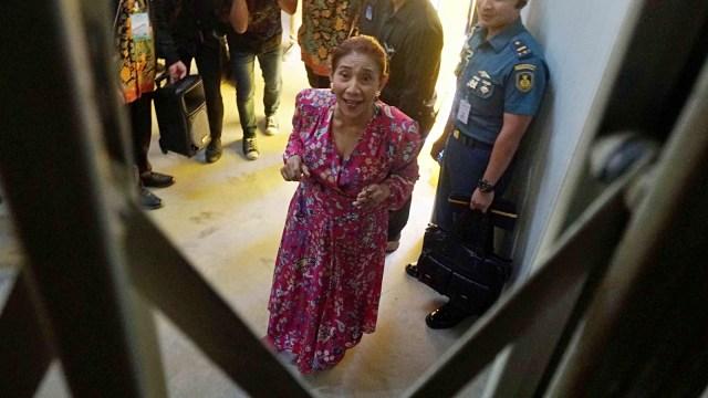Foto: Susi Pudjiastuti Resmikan Cold Storage Raksasa di Jakarta Utara (170994)