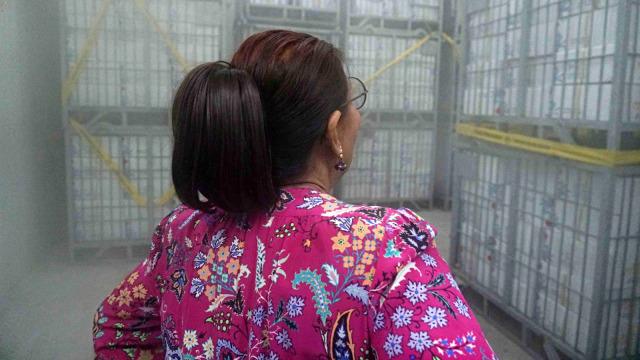 Foto: Susi Pudjiastuti Resmikan Cold Storage Raksasa di Jakarta Utara (170998)