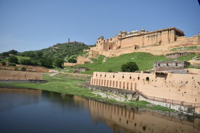 Menjelajahi Amer Fort, Benteng Berarsitektur Megah di Jaipur, India  (399454)