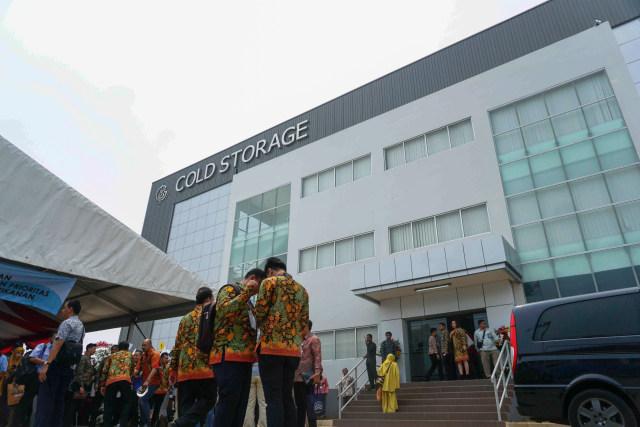 Foto: Susi Pudjiastuti Resmikan Cold Storage Raksasa di Jakarta Utara (171001)