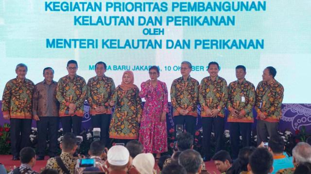 Foto: Susi Pudjiastuti Resmikan Cold Storage Raksasa di Jakarta Utara (170992)