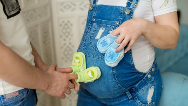 Ilustrasi hamil bayi kembar