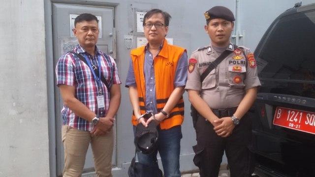 Bernard Hanafi Kalalo, Lapas Klas I Tangerang
