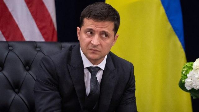 Positif Corona, Presiden Ukraina Dirawat di Rumah Sakit (15061)