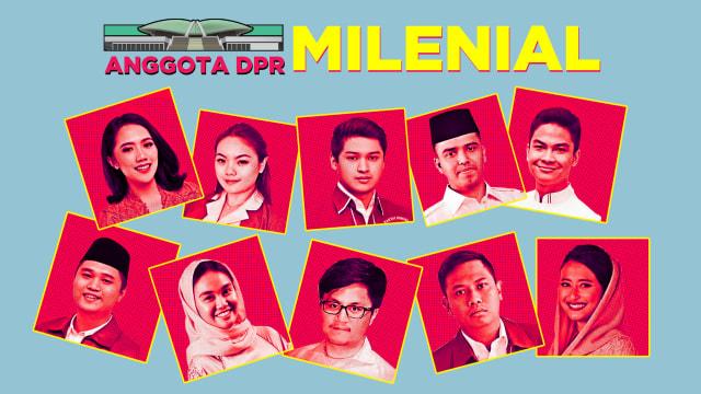 Mengenal Anggota DPR Milenial  (502619)