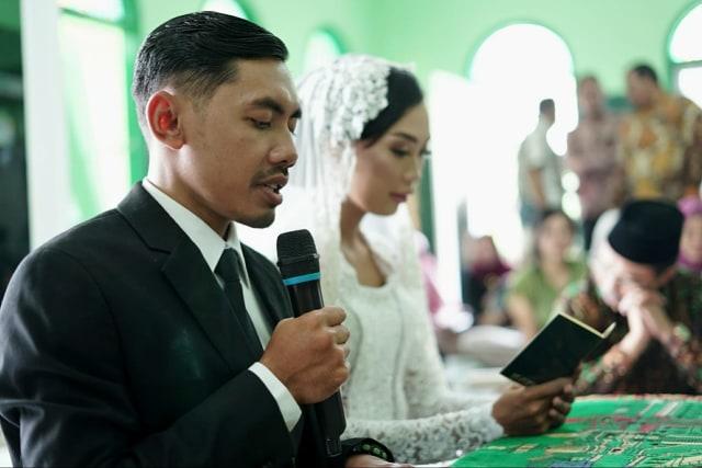 Cerita Pasangan yang Berani Menikah Sederhana dengan Modal Rp 5,5 Juta (25156)