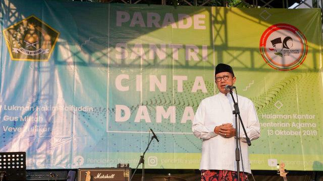 Di Hari Santri Nasional, Menag Ingatkan Pentingnya Hargai Perbedaan (1102701)