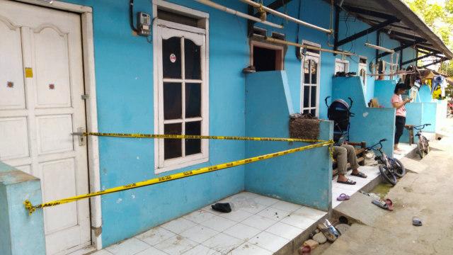 Rumah tersangka terorisme Noval Agus Syafroni