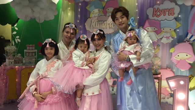 Ulang Tahun Putri Lee Jeong Hoon,