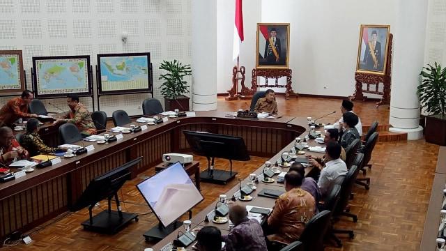 Rakor penanganan stunting di Kantor Wakil Presiden
