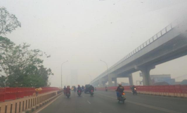 Kabut Asap Pekat: Jumlah Balita Penderita ISPA di Palembang Meningkat (105779)