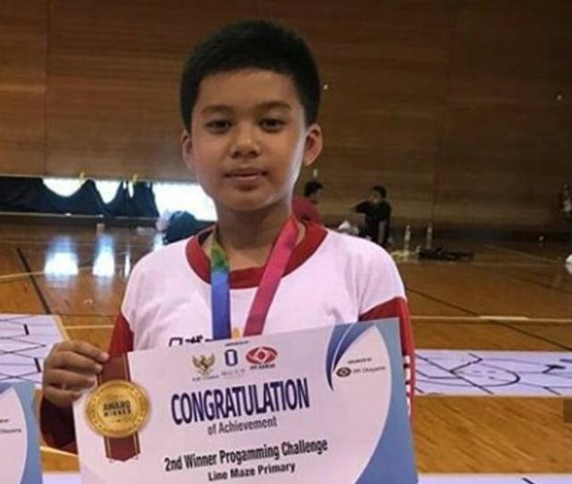 Siswa SD di Surabaya Raih Medali Perak di Robofest Japan 2019 (247)