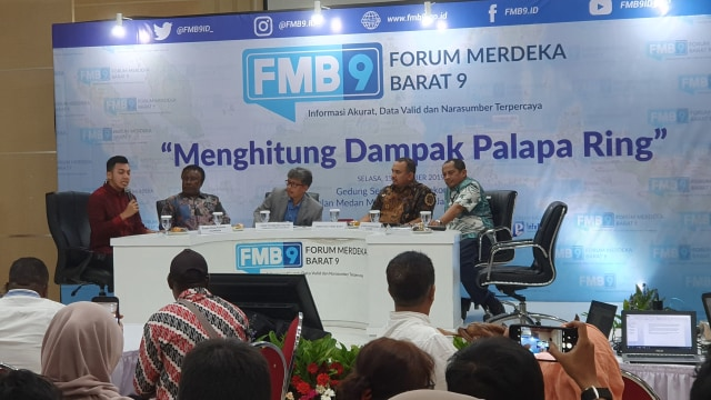 Diskusi Media Forum Merdeka Barat (FMB) 9