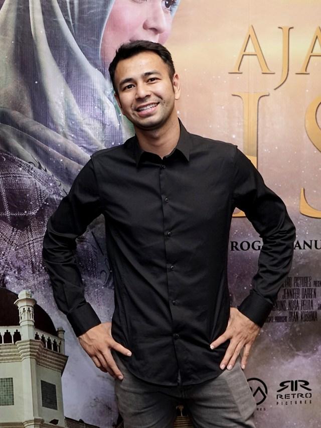 Raffi Ahmad, screening film Ajari Aku Islam (POTRAIT)