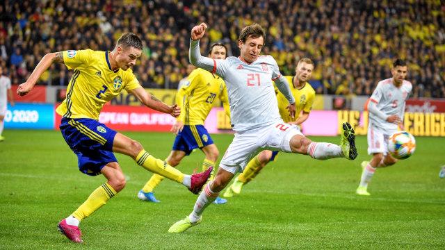 Tahan Imbang Swedia, Spanyol Lolos ke Piala Eropa 2020 (241971)