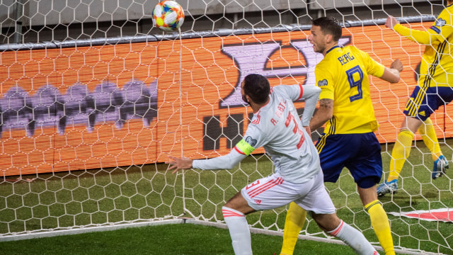 Tahan Imbang Swedia, Spanyol Lolos ke Piala Eropa 2020 (241972)