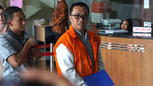 Mantan Menteri Pemuda dan Olahraga (Menpora) Imam Nahrawi, Komisi Pemberantasan Korupsi (KPK), Jakarta.