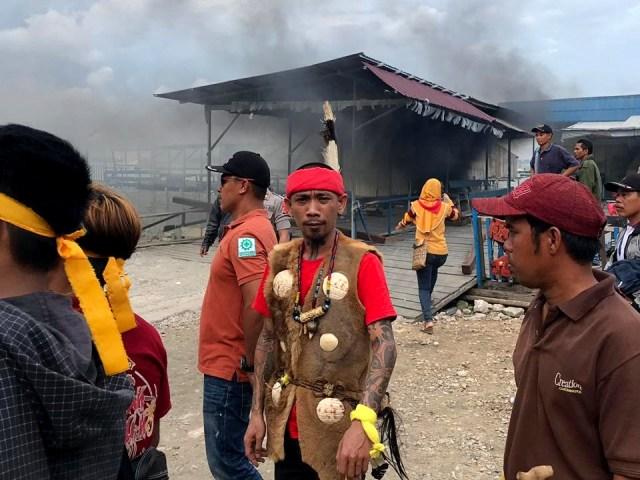 Kalimantan Timur, Ricuh