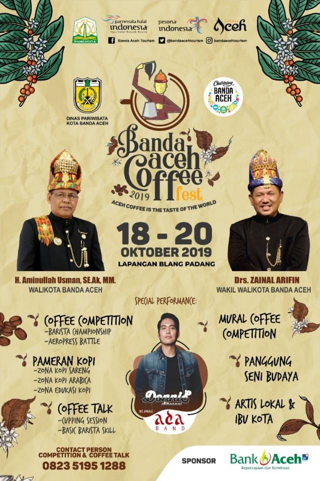 Anda Pecandu Kopi Kunjungi Festival Kopi Banda Aceh 2019 Kumparan Com