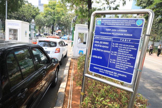 Kapan Tarif Parkir Rp 60 Ribu per Jam Berlaku di Jakarta? (169767)