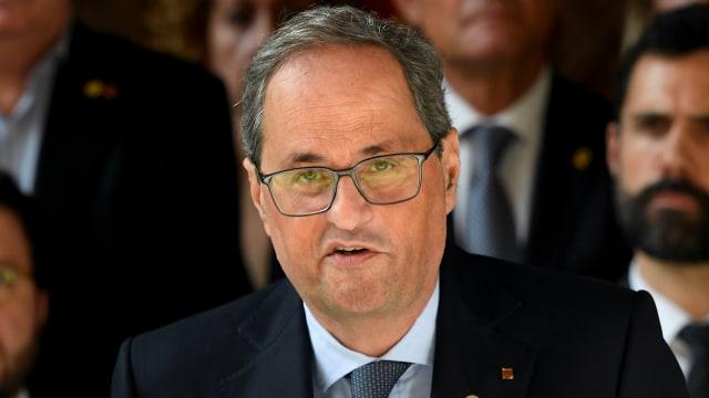 Presiden Catalonia Quim Torra