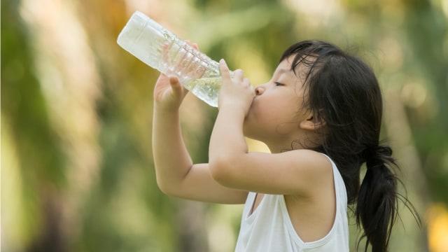 anak minum