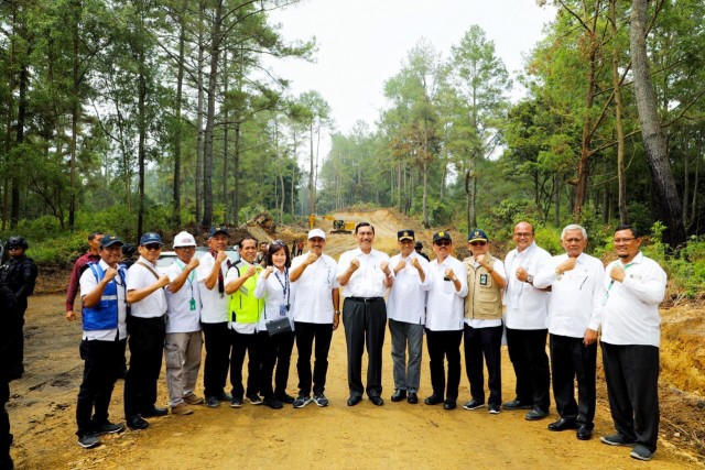 Peletakan batu pertama pembangunan Toba Caldera Resort