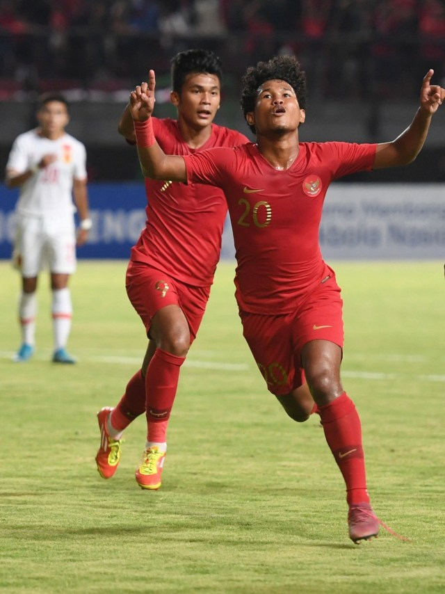 Timnas Indonesia U-19 melawan Timnas China U-19, POTRAIT