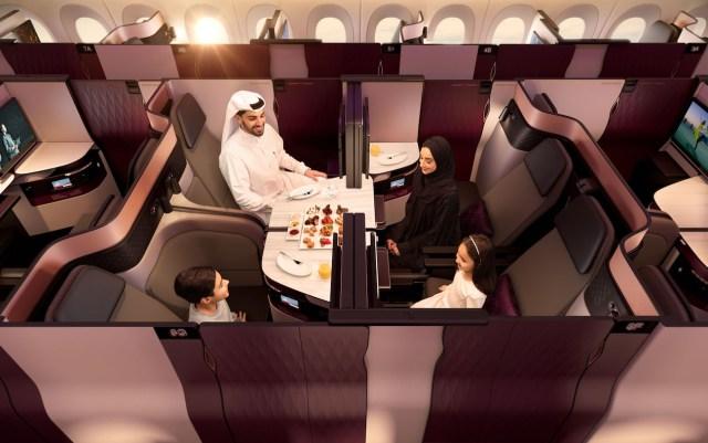 Qatar Airways: Kelas Bisnis Qsuite Kalahkan First Class Maskapai Lain (100177)