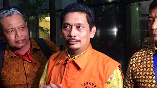 Eks direktur utama PT Industri Telekomunikasi Indonesia (PT INTI), Darman Mappangara