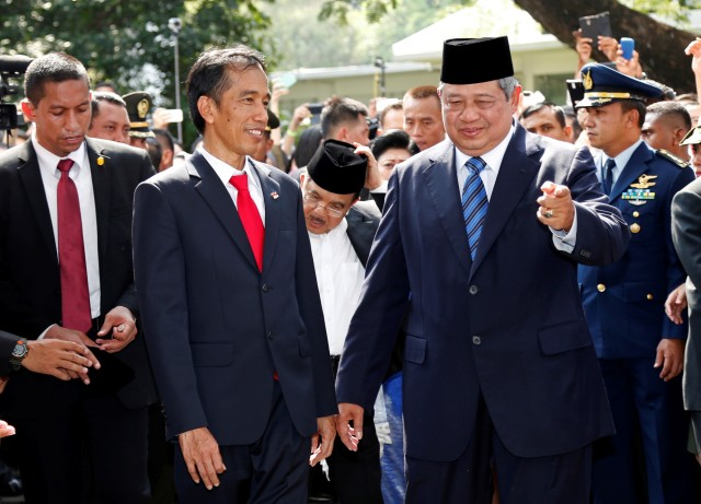 Beda Cara Relawan Rayakan Pelantikan Jokowi di 2014 dan 2019 (47268)
