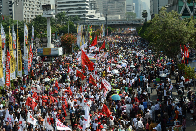 Beda Cara Relawan Rayakan Pelantikan Jokowi di 2014 dan 2019 (47272)
