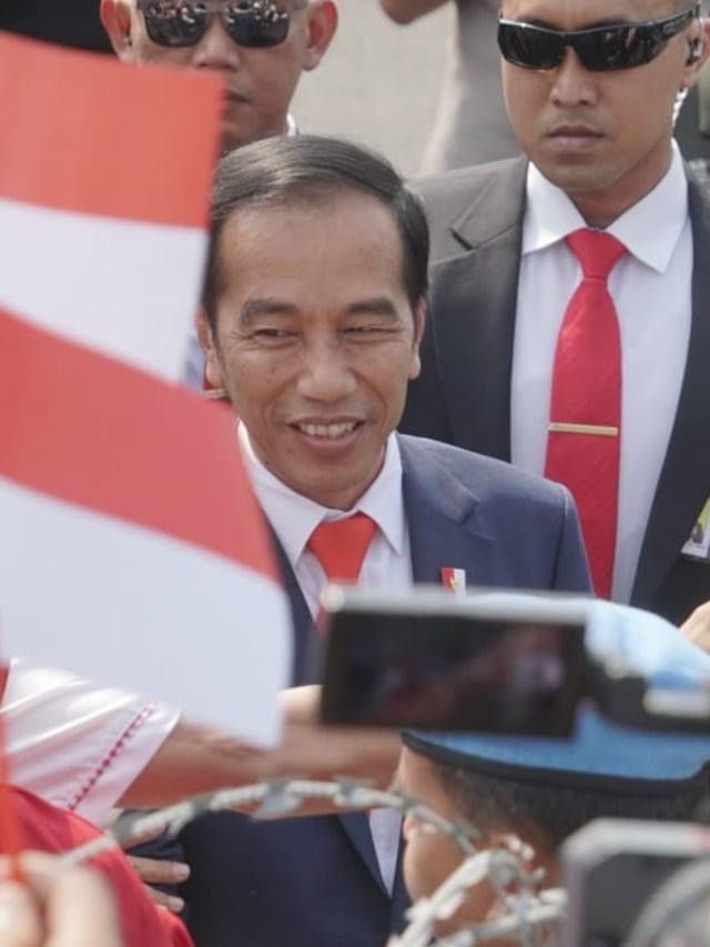 Pelantikan Presiden 2019, Presiden menyapa masyarakat, PTR