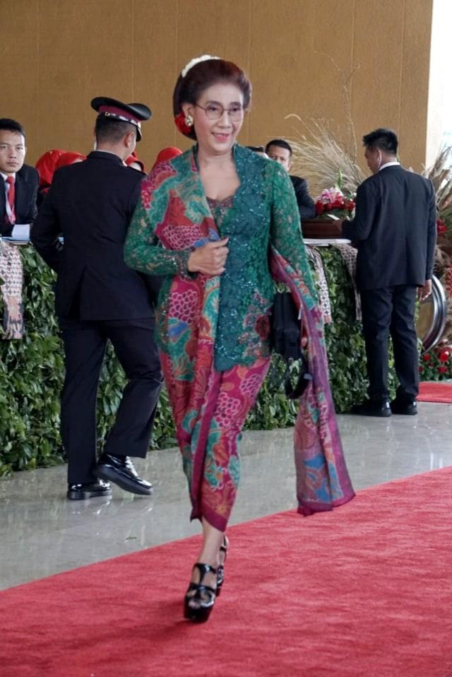 PTR, Pelantikan Presiden 2019, Susi Pudjiastuti
