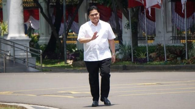 Erick Thohir, Istana Negara