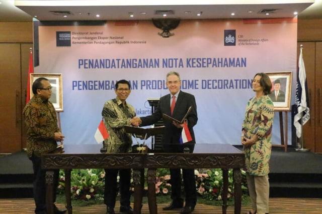 9 MoU senilai Rp. 60,8 Milyar Belanda Indonesia pada TEI 2019 (97699)