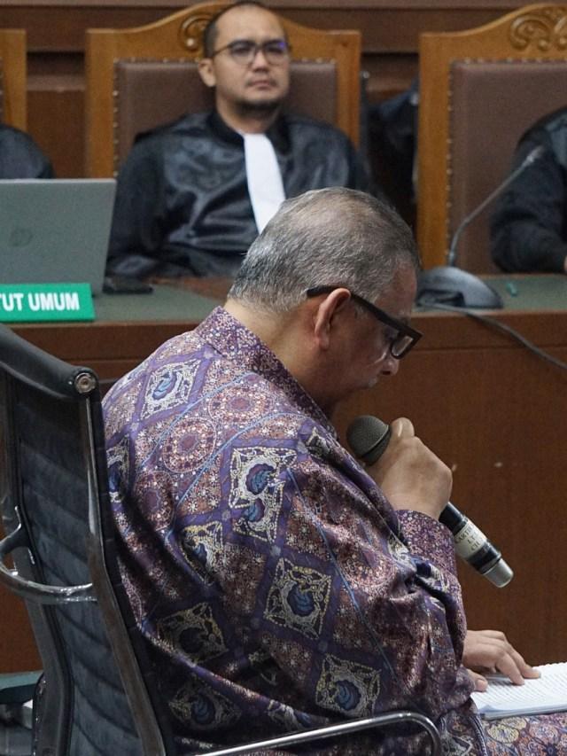 Jelang Sidang Vonis, Eks Dirut PLN Sofyan Basir Berharap Bebas (200651)