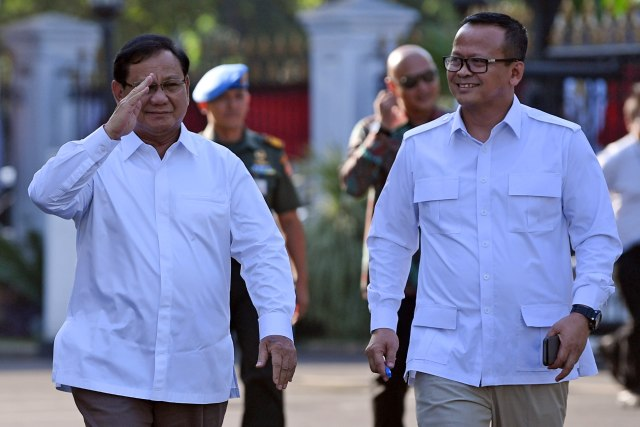 Gerindra: Kami Sudah Lapor Prabowo soal Menteri Edhy Ditangkap KPK (24235)
