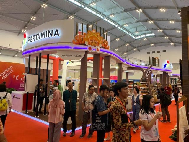 UMKM Binaan Pertamina Raup Penjualan Rp 7 Miliar di TEI 2019 (105894)