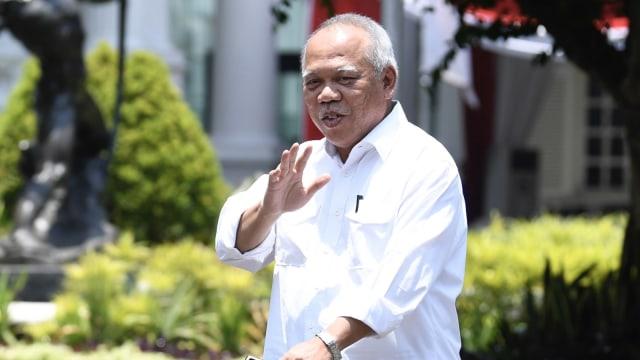Basuki Hadimuljono di Istana Kepresidenan